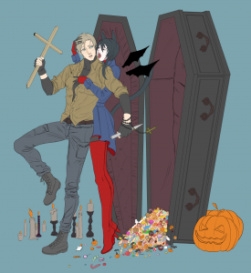 オリジナルのハロウィン絵